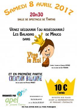 flyers RECTO VIVE LE ROI